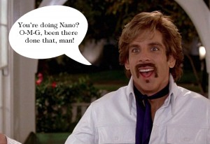 White Goodman's done NaNoWriMo