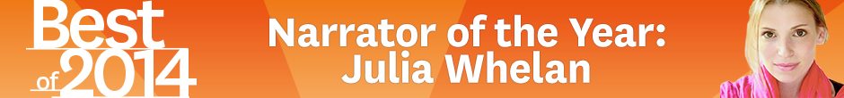 Julia Whelan - Audible Narrator of the Year 2014