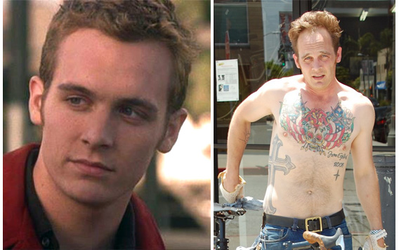 Ethan Embry - then and now