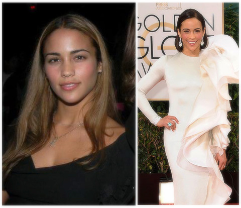 Paula Patton - then and now