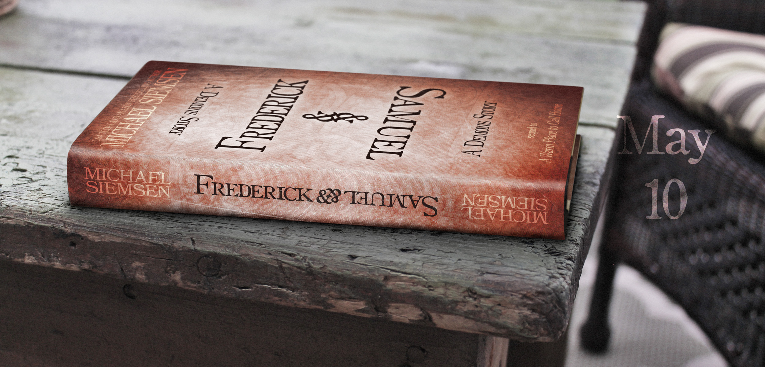 Frederick & Samuel (A Demons Story) Hardcover Novel